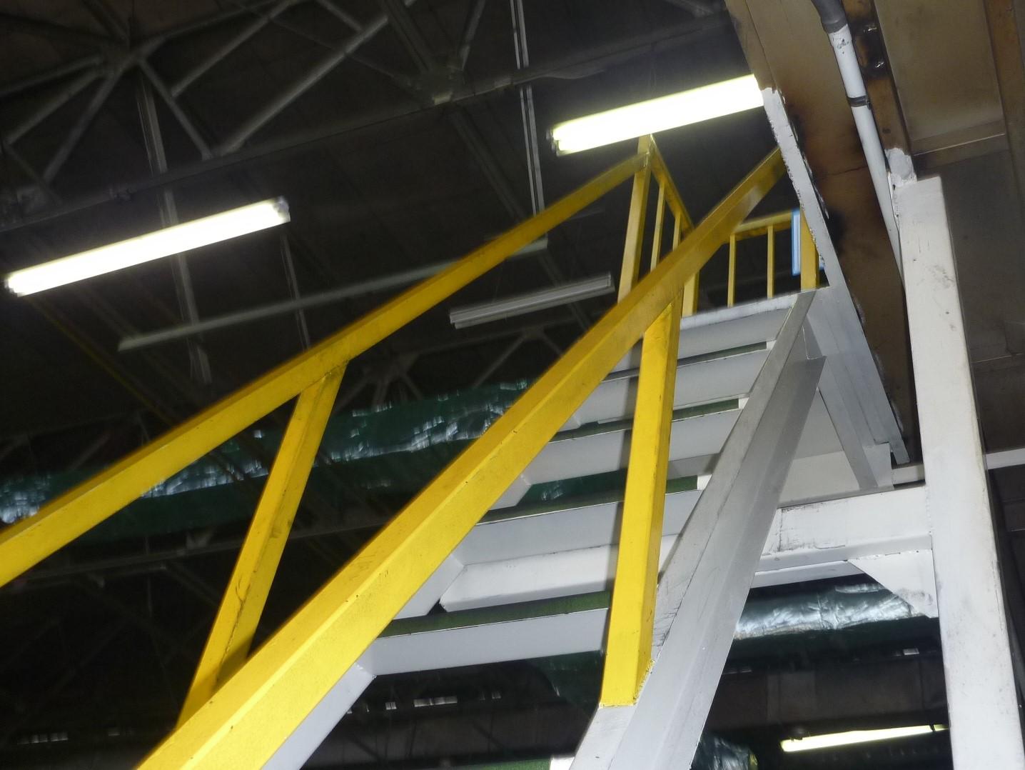 階段設置工事