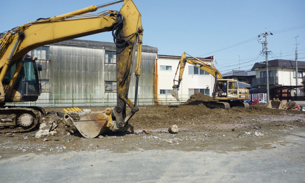 倉庫解体工事